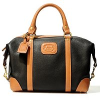 "GHURKA LUXURY COLLECTION WOMEN'S ""CAVALIER"" LEATHER SHOULDER HANDBAG"