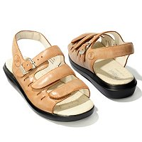 "PROPET FOOTWEAR ""BREEZE WALKER"" THREE STRAP SANDALS"
