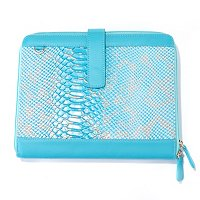 iPad Reptile Embossed Clutch with Detachable Shoulder Strap
