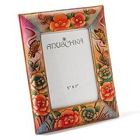 Anuschka Hand Painted Photo Frame