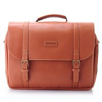 Belting Leather Saddle Bag Briefcase