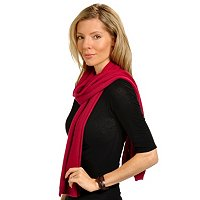 Brooks Brothers Cashmere Pointelle Knit Scarf