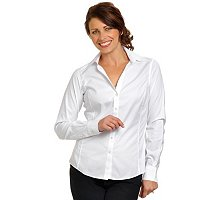 Women's White Spago Blouse