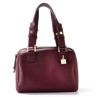 704-404 - Calvin Klein Handbags Leather Small Domed Duffle