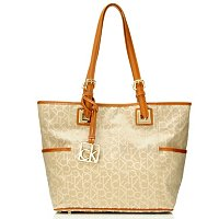 Calvin Klein Handbags East/West Logo Jacquard Tote