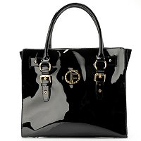 Jack French London Mount Patent Leather Tote