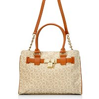 Calvin Klein Handbags Convertible Logo Jacquard Carry All