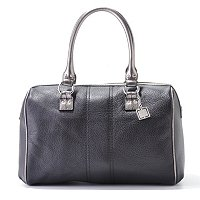 Calvin Klein Handbags Leather Domed Duffle