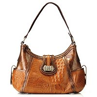 Madi Claire Luckie Croco Embossed Hobo