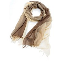 Brooks Brothers Dip Dye Chashmere Wrap