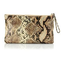 Love Carson by Carson Kressley Reversible Snakeskin to Sequin Clutch