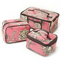 MURVAL SET OF 3 COSMETIC CASES