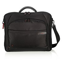 XENON SHOCK ABSORBER BRIEFCASE-BLACK/RED