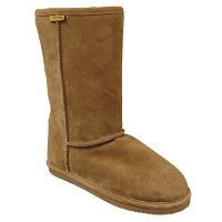 BRUMBY SHEARLING SHEEPSKIN FLAT SOLE COM
