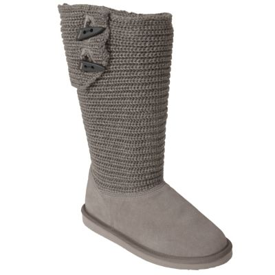 707-408 - Pawz by BearPaw Knit Toggle Button Boots