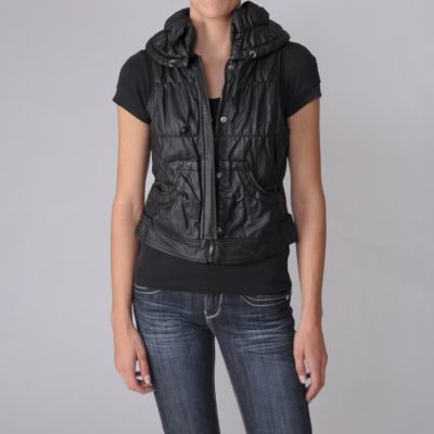 708-382 - Ci Sono Juniors Faux Leather Vest