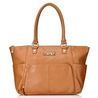 CALVIN KLEIN HANDBAGS LEATHER ORGANIZER TOTE