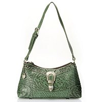 AMERICAN WEST ZIP TOP SHOULDER BAG