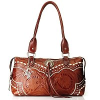 AMERICAN WEST ZIP AROUND EAST-WEST TOTE