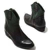 MIA Richwood Two-Tone Western Inspired Ankle Boots
