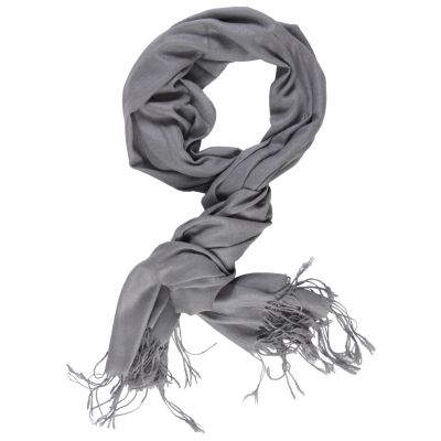 709-733 - Hailey Jeans Co Womens Fringe Detail Pashmina Blend Scarf