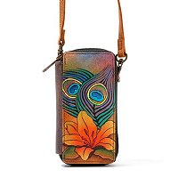 Anushcka Hand Painted Leather Smart Phone Case & Wallet