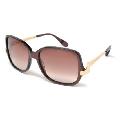 709-767 - Marc By Marc Jacobs Women's Chocolate Gold Designer Sunglasses