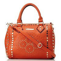Nicole Lee Studded Barrel Bag