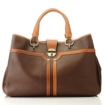 709-932 - PRIX DE DRESSAGE ''Strength'' Leather Tote Bag