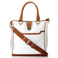 Dressage Leather Perforated Tote