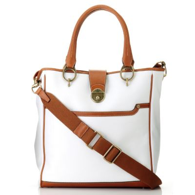 "709-934 - PRIX DE DRESSAGE ""Pinnacle"" Leather Tote Bag"
