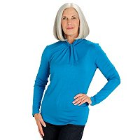 Love Carson Twist Turtle Neck Top