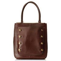 Brooks Brothers Burnished DB Button Hobo