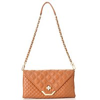 Brooks Brothers Quilted Lambskin Clutch