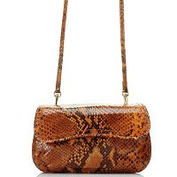 Brooks Brothers Exotci Smbossed Cross Body Clutch
