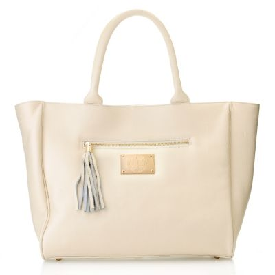 "710-009 - Jack French London Leather ""Belgrave"" Tote Bag"
