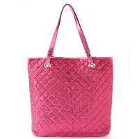 Chateau Sequin Double Strap Tote