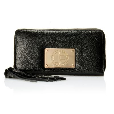 "710-019 - Jack French London Leather ""Motcomb"" Zip Around Wallet"