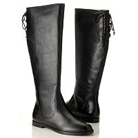 Brooks Brothers Calf Back Laced Flat Boot