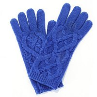 Brooks Brothers Cashmere & Wool Cable Knit Glove