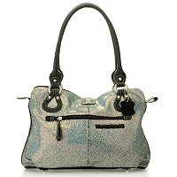 Madi Claire Wendi Printed Leather Satchel