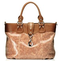 Madi Claire Wendi Printed Leather Tote