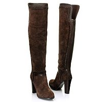 Carlos Santana Marina Tall Boot with Stitch Detail