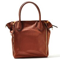 Sondra Roberts Zipper Detail Shopper