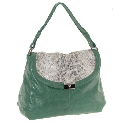 710-338 - Buxton® Jasmine Collection Leather Shoulder Handbag