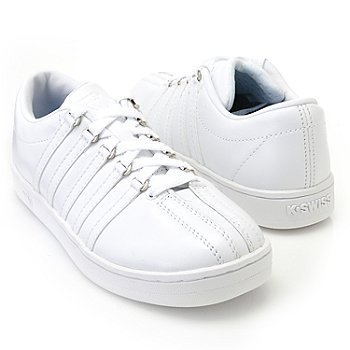 710-459 - K-Swiss® Women's ''Classic'' Leather Sneakers
