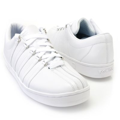 "710-473 - K-Swiss® Men's ""Classic"" Leather Sneakers"