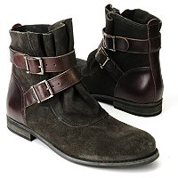 Matisse Hunter Short Boots with Strap and Buckle
