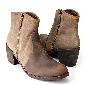 710-514 - Matisse® Suede & Leather ''Precilla'' Ankle Boots