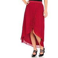 WD.NY Accordian Hi Low Skirt